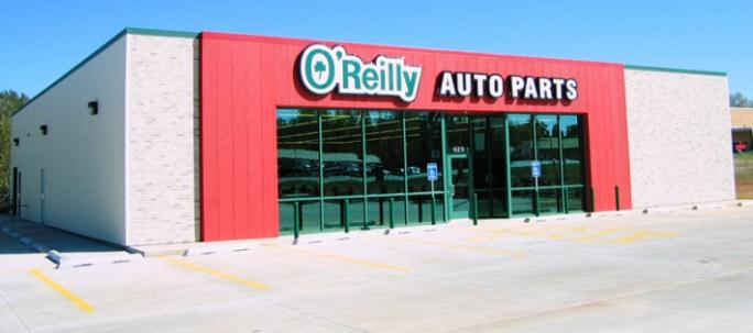 An O'Reilly Auto Parts store.